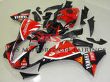 Red and Black Santander Fairing Kit for a 2009, 2010 & 2011 Yamaha YZF-R1 motorcycle