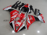 Yamaha YZF-R1 (2012-2014) Red, White & Black Milwaukee Fairings