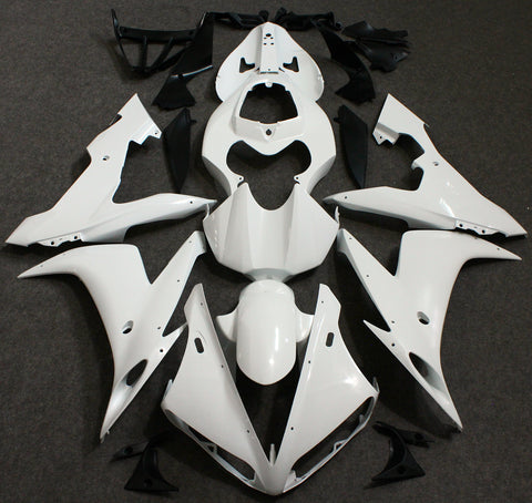Gloss White Fairing Kit for Yamaha YZF-R6 2003, 2004 and 2005 motorcycles