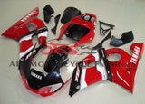 Yamaha YZF-R6 (1998-2002) Black, Red & White Deltabox Fairings