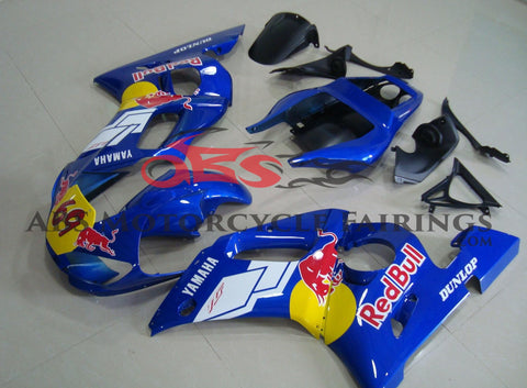 Red Bull Blue 1999-2002 Yamaha YZF-R6