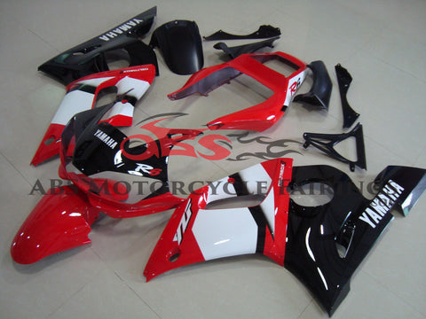 Deltabox Red White & Black 1998-2002 Yamaha YZF-R6