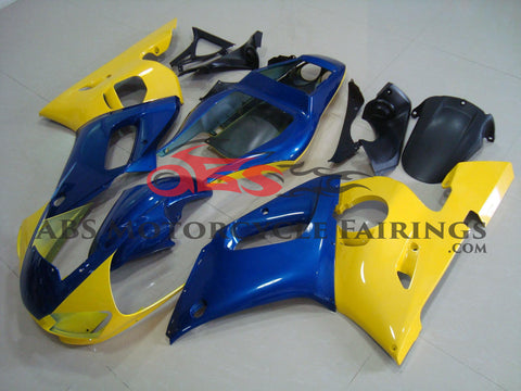 Yellow & Blue 1999-2002 Yamaha YZF-R6