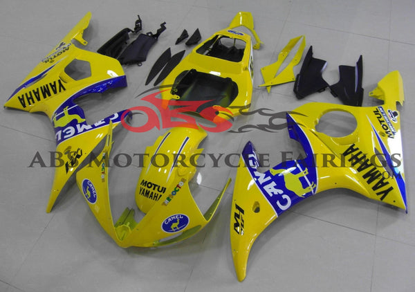 Camel Yellow & Blue 2003-2005 Yamaha YZF-R6