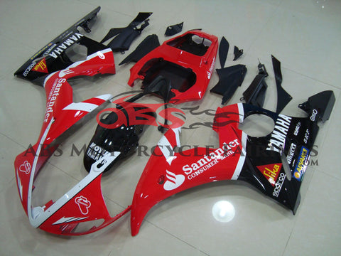 Santander Red & Black 2003-2005 Yamaha YZF-R6