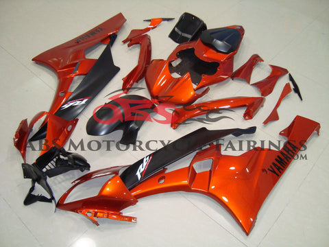 Orange & Matte Black 2006-2007 Yamaha YZF-R6