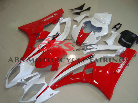 Michelin Red & White 2006-2007 Yamaha YZF-R6