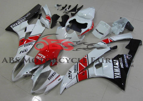 Motul M1 Red & White 2006-2007 Yamaha YZF-R6