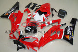Red, White and Black Fairing Kit for a 2006 & 2007 Yamaha YZF-R6 motorcycle