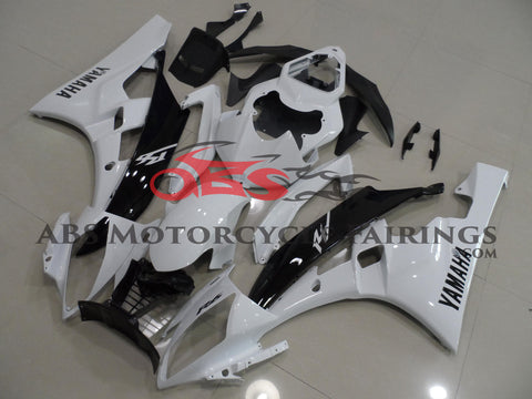Black & White 2006-2007 Yamaha YZF-R6
