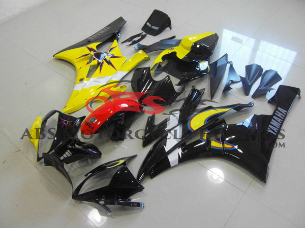 Sun & Moon Yellow & Black 2006-2007 Yamaha YZF-R6
