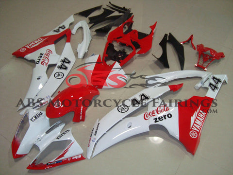 Coca Cola Zero 44 Red & White 2008-2012 Yamaha YZF-R6