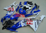 Blue, White and Red FIAT Fairing Kit for a 2008, 2009, 2010, 2011, 2012, 2013, 2014, 2015 & 2016 Yamaha YZF-R6 motorcycle