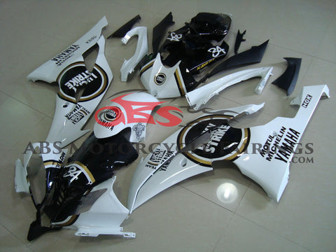 Lucky Strike 34 Black & White 2008-2013 Yamaha YZF-R6
