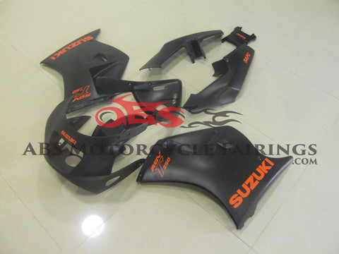 Matte Black with Orange Decals Suzuki RGV250 VJ21