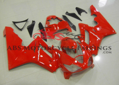 Gloss Red Fairing Kit for a 2006, 2007 & 2008 Triumph Daytona 675 motorcycle