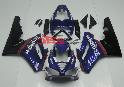 Triumph Daytona 675 (2009-2012) Blue, Black & Red Fairings