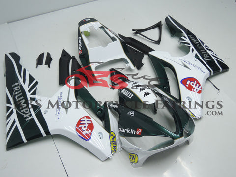 HPI Arrow Dark Green & White 2009-2011 Triumph Daytona 675
