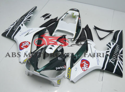 Triumph Daytona 675 (2006-2008) Green & White Fairings