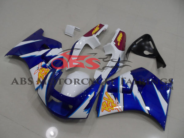Blue with White Stripe 1991-1996 Suzuki RGV250 VJ22