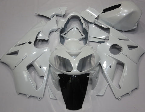 Kawasaki ZX12R (2000-2001) White Fairings