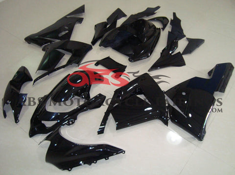 All Gloss Black Fairing Kit for 2004-2005 Kawasaki ZX-10R