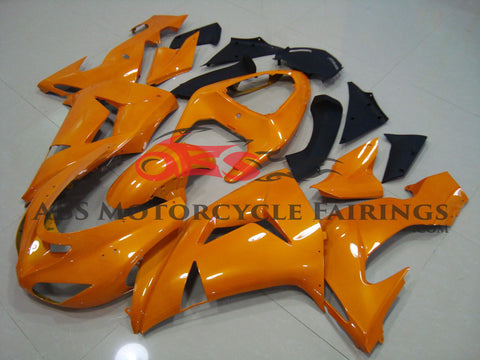 All Orange 2006-2007 Kawasaki ZX-10R