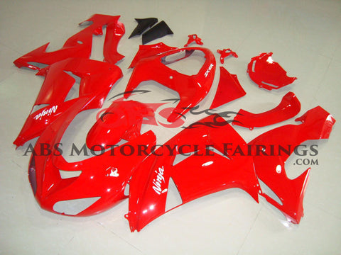 All Red 2006-2007 Kawasaki ZX-10R
