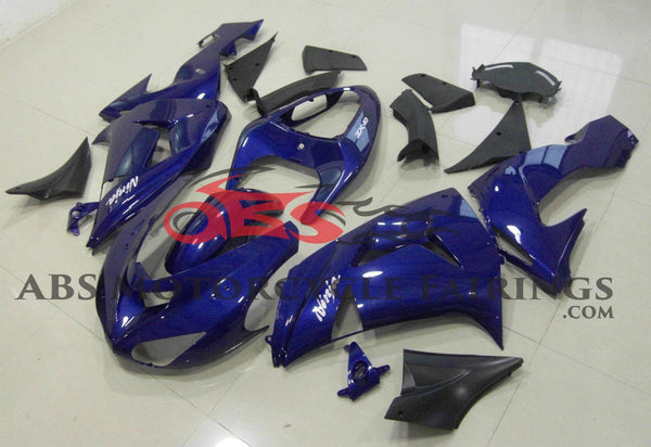 Dark Blue Fairing Kit for 2006-2007 Kawasaki ZX-10R