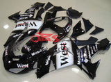 Black and White West Mobil Fairing Kit for a 2006 & 2007 Kawasaki Ninja ZX-10R motorcycle