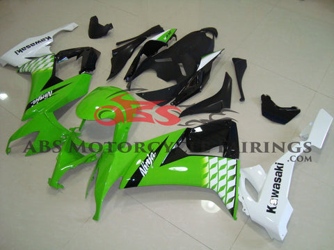 Lime Green & Black 2008-2010 Kawasaki ZX-10R