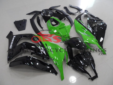 Green & Black 2011-2014 Kawasaki ZX-10R