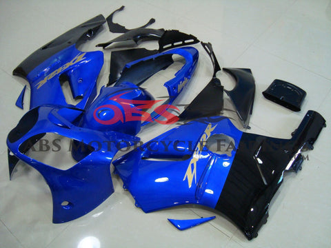 KAWASAKI NINJA ZX12R (2002-2006) BLUE & BLACK FAIRINGS