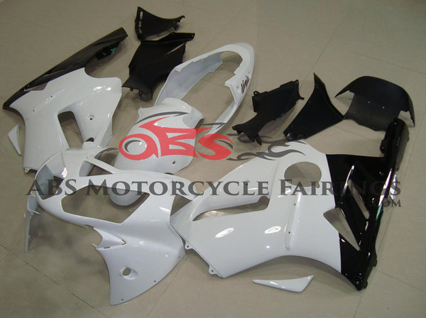 KAWASAKI NINJA ZX12R (2002-2006) WHITE & BLACK FAIRINGS