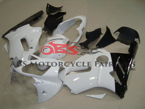 Kawasaki ZX12R (2000-2001) White & Black Fairings
