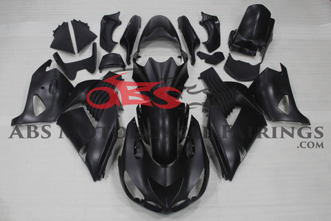 All Matte Black 2006-2011 Kawasaki ZX-14R