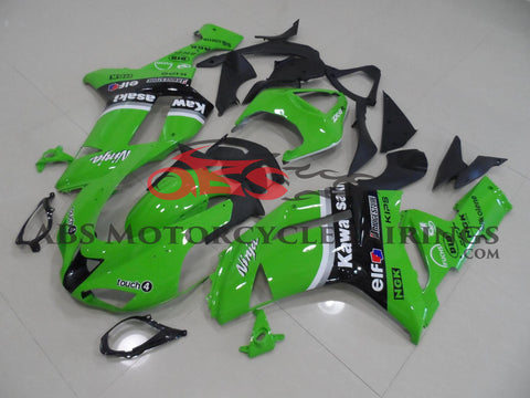 Ninja Green Arrow 2007-2008 Kawasaki ZX-6R 636