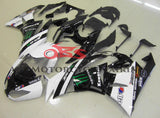 Kawasaki Ninja ZX6R 636 (2009-2012) White & Black Monster Energy Fairings