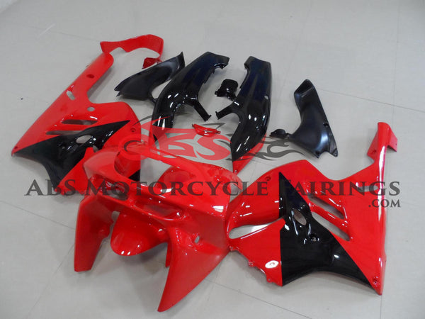 Red & Black Fairing Kit for 1996-1997 Kawasaki ZX-9R