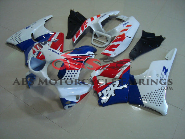 White Blue & Red 2002-2003 Honda CBR900RR 954
