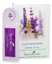 Essential Oils Sampler - Lavender 10 pk - Great for sharing or take with you on the go.