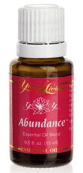 Young Living Abundance 15 ML Bottle 100% Therapeutic Grade Essential Oil Supplement