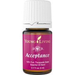 Young Living Acceptance 5 ML 100 % Therapeutic Grade Essential Oil Supplement