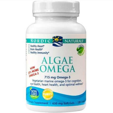 Algae Omega, Eye Health, Heart Health, and Optimal Wellness, 120 Soft Gels