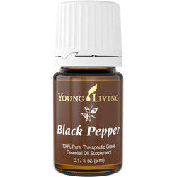 Young Living 5 ml Black Pepper 100 % Therapeutic Grade Essential Oil