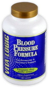 Blood Pressure Formula By VitaLogic - 180 Tablets