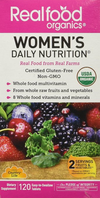 Country Life Women's Daily Nutrition, 120-Count