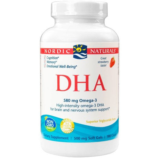 DHA, Brain and Nervous System Support, 180 Soft Gels