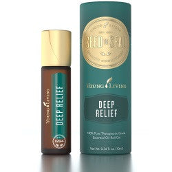 Young Living Essential Oils Deep Relief 10 ML Blend Roll On Bottle