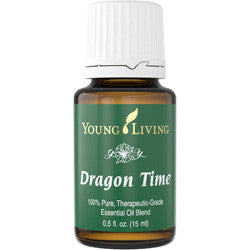 Young Living Dragon Time 15 ML 100% Therapeutic Grade Essential Oil Supplement